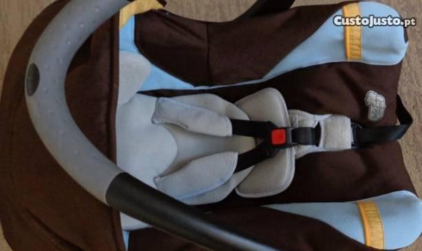 Cadeira bebe/ovo creatis-bebeconfort +espelho