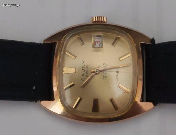 Relógio de homem marca cauny anos 60