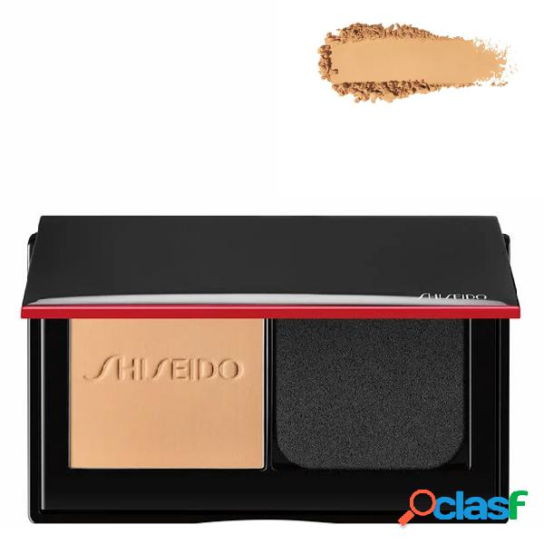 Shiseido synchro skin foundation base em pó compacto cor 160 shell 9 gr