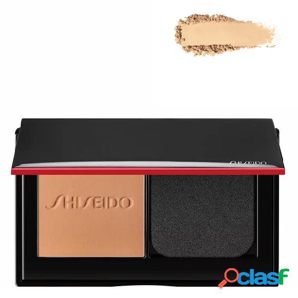 Shiseido synchro skin foundation base em pó compacto cor 310 silk 9 gr