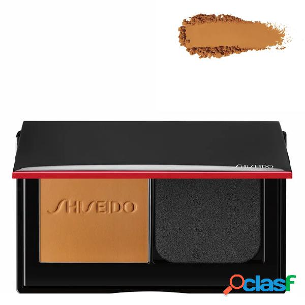 Shiseido synchro skin foundation base em pó compacto cor 410 sunstone 9 gr