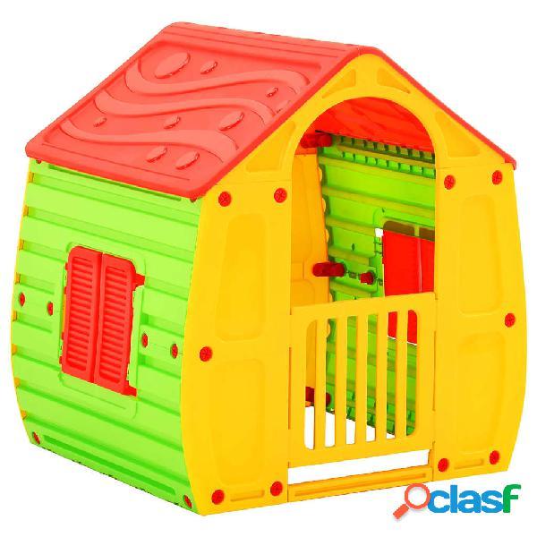 Vidaxl casa de brincar infantil 102x90x109 cm