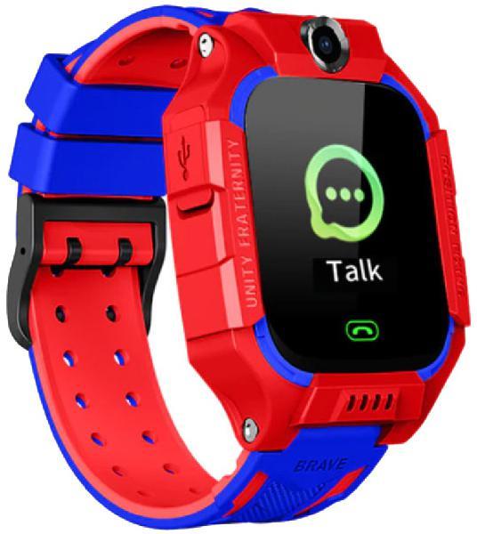 Relógio segurança c/ gps para crianças brave (vermelho)