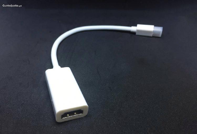 Adaptador mini displayport para hdmi (macbook)