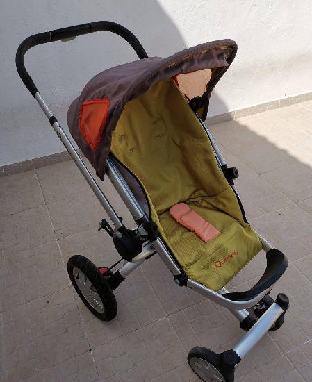 Carrinho de bébé quinny buzz 3 + babycoque (ovo) maxicosi