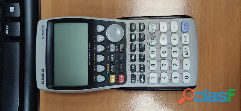 Calculadora Gráfica CASIO FX 9860GII