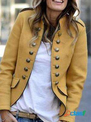 Plain long sleeve blazers