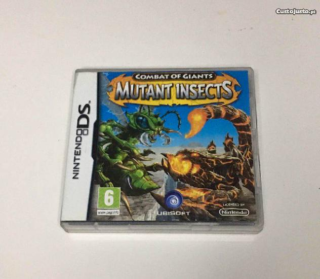 Combat of Giants Mutant Insects Nintendo DS completo