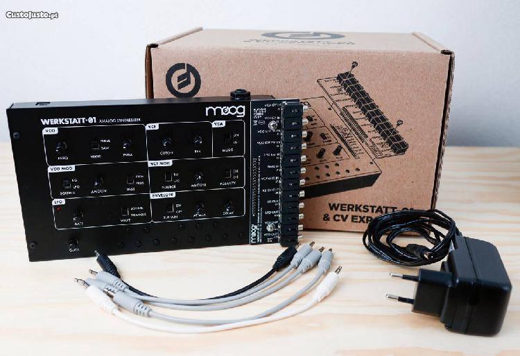 Moog Werkstatt-01 com Expansão