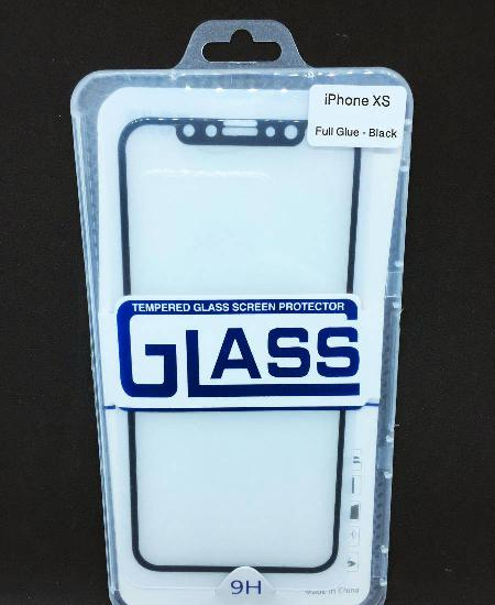 Película de vidro temperado completa de iphone xs