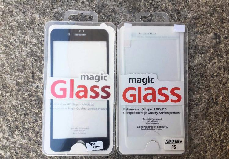 Película de vidro temperado completa iphone 7 plus