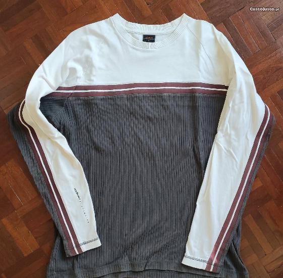 Camisola de marca tamanho l