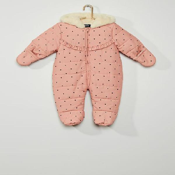 Macacão menina 0-36 meses - rosa - kiabi - 27,00€
