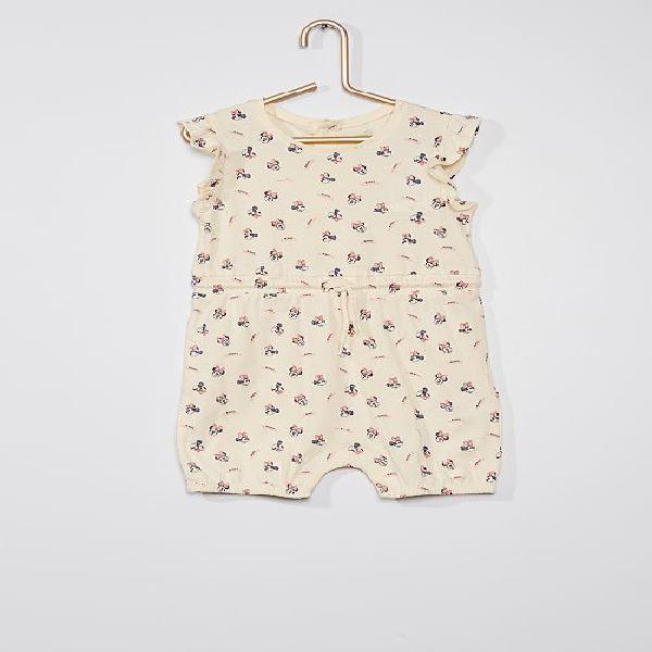 Macacão curto 'minnie' da 'disney' menina 0-36 meses -