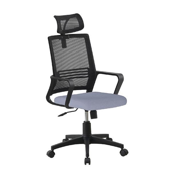 Csd cadeira operativa plus, tecido, malha e nylon, preto e
