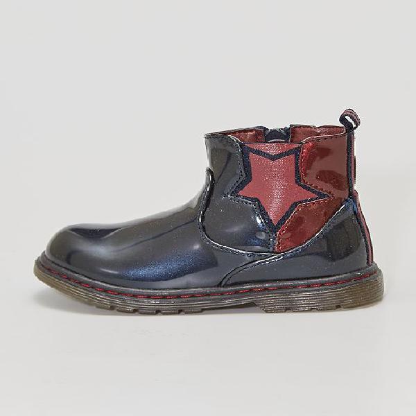 Botas tipo 'chelsea' 'beppi' calçado - azul - kiabi -