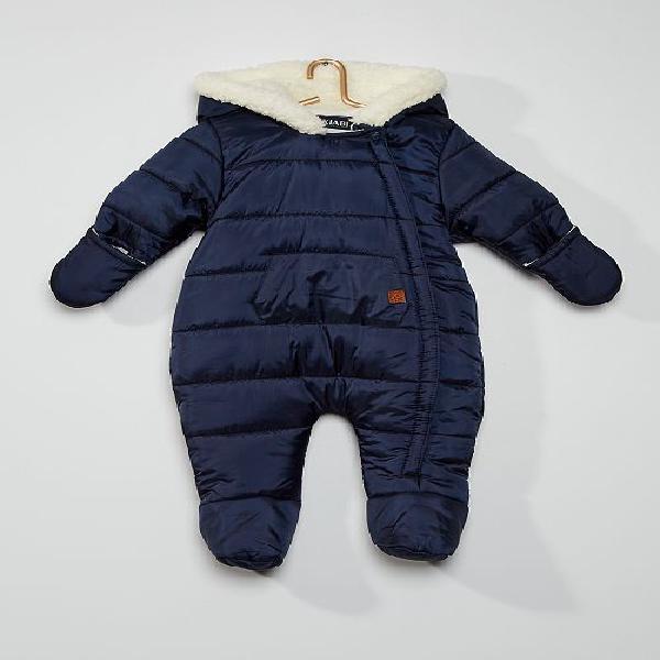 Macacão menino 0-36 meses - azul marinho - kiabi - 25,00€