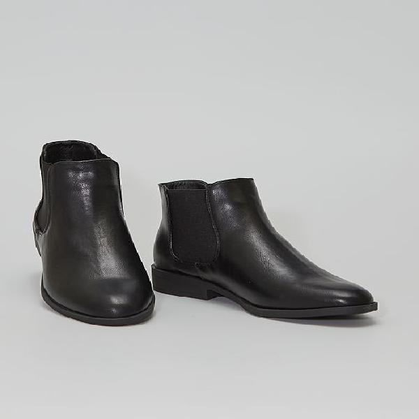Botas tipo chelsea calçado - preto - kiabi - 24,00€