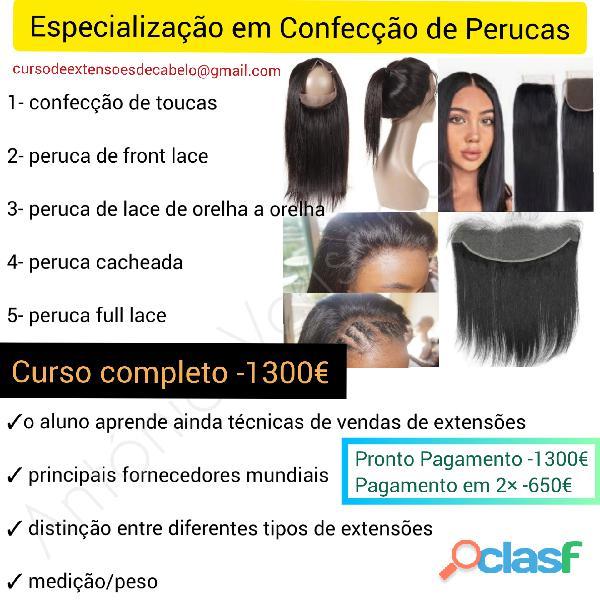 Curso de Extensões de cabelo
