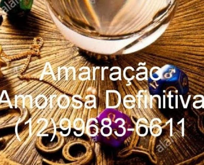 Amarração amorosa 55+12 99683-6611