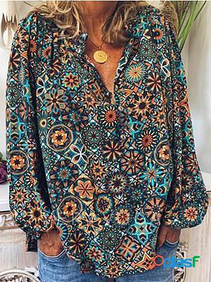 Vintage print shirt