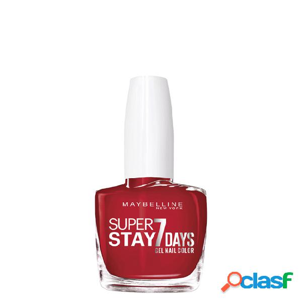 Maybelline superstay verniz gel cor 006 deep red 10ml