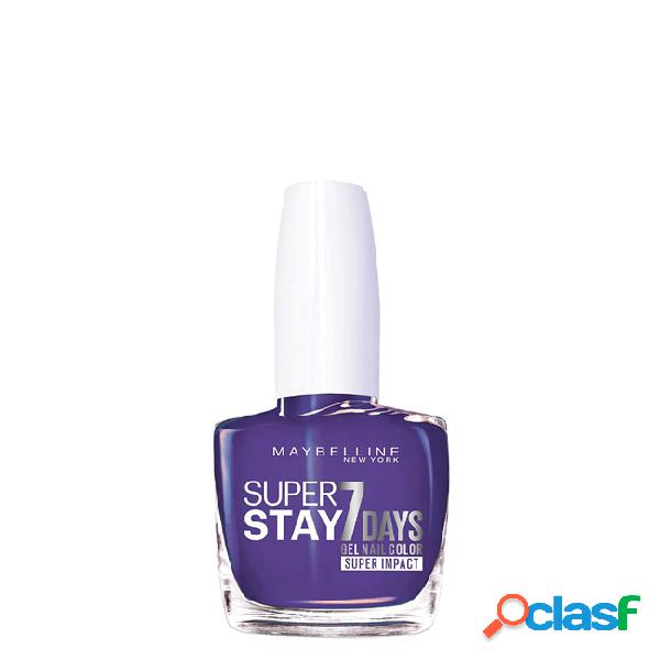 Maybelline superstay verniz gel cor 887 all day plum 10ml