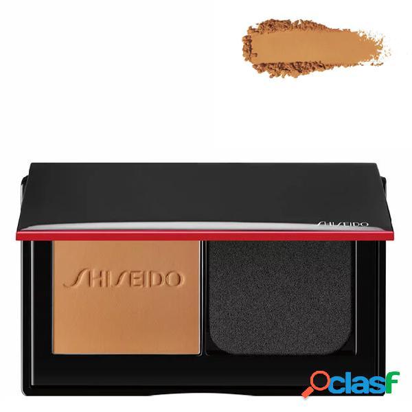 Shiseido synchro skin foundation base em pó compacto cor 350 maple 9 gr